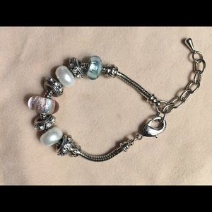 Jewelry - ♦️2 for $10♦️Bracelet with charms